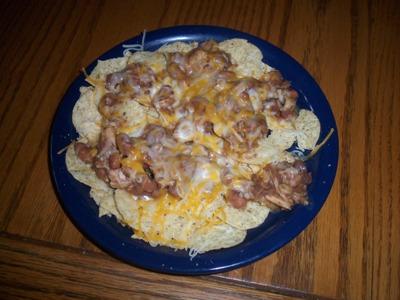 Challupa-nachos