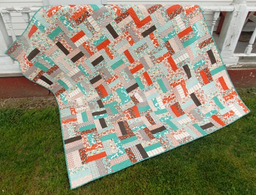 Rail Fence Jelly Roll Quilt Pattern | Jo's Country Junction : quilt jelly roll - Adamdwight.com