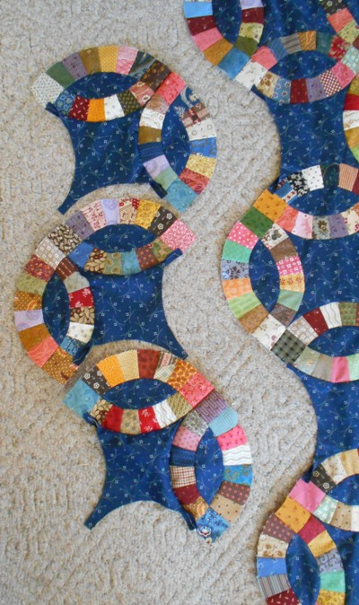 Wedding Ring Quilt Pattern.Tips For Double Wedding Ring Quilt Jo S Country Junction