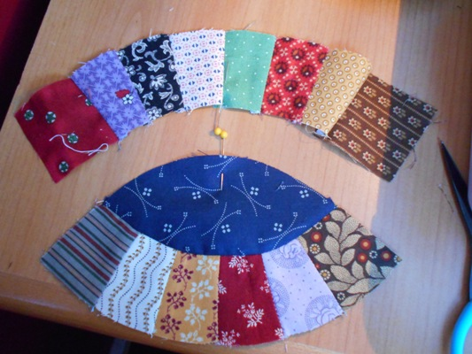 This is a picture of Free Printable Double Wedding Ring Quilt Pattern throughout rob peter to pay paul