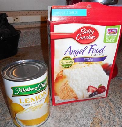 Lemon Angel Food Cake Box Mix