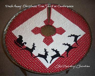 Christmas Tree Skirt-Table Topper