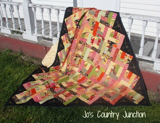Modified Log Cabin Oz Quilt