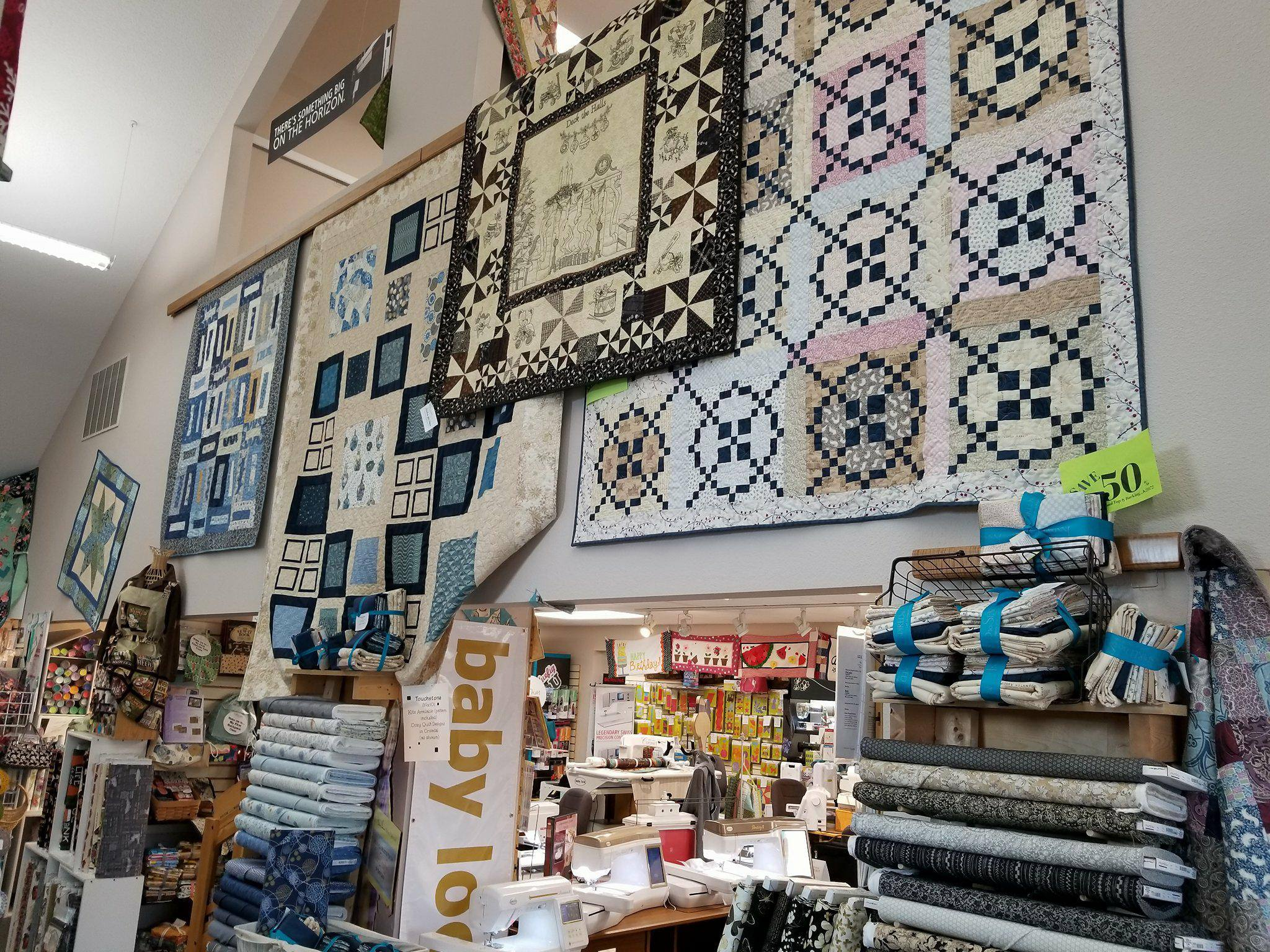 Quilt Shop Tour Inspired To Sew