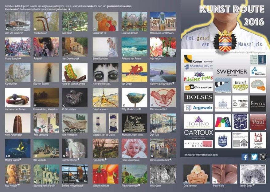 Kunst- en atelierroute 2016