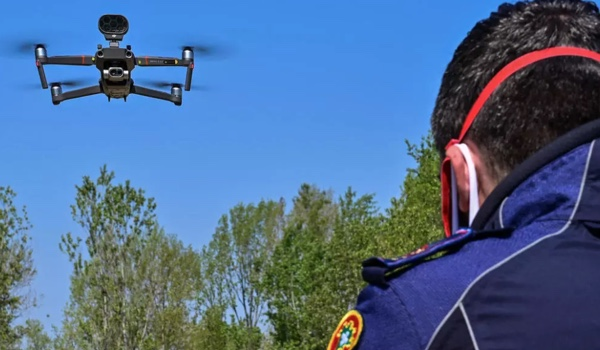 Drones Take Italians' Temperature and Issue Fines