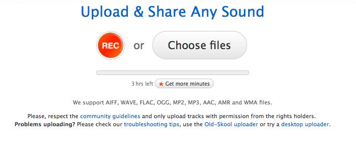 Subir podcasts a Soundcloud