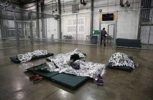 U.S. Border Patrol Houses Unaccompanied Minors In Detention Center