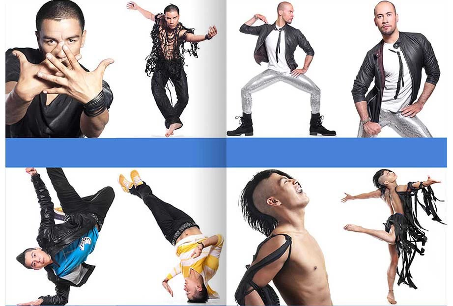 RM PRODANCE. Ivan Triste, Pedro Gea, Angel Leal, Mike Freyre , Styling - Tere Melendez , PHOTO - Jose Luis Lozano