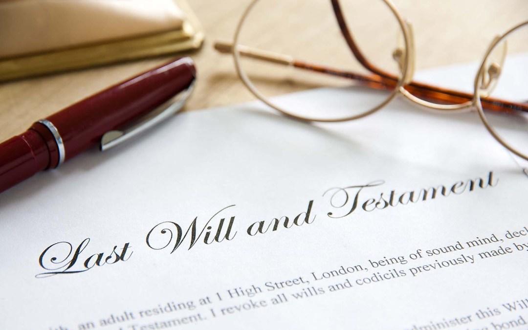 La utilidad de otorgar testamento
