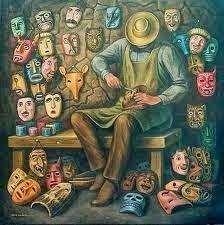 Les set màscares. La visió de la teràpia gestalt del conte.