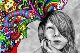 Dejarse llevar por la imaginación, liberar el hemisferio cerebral derecho.