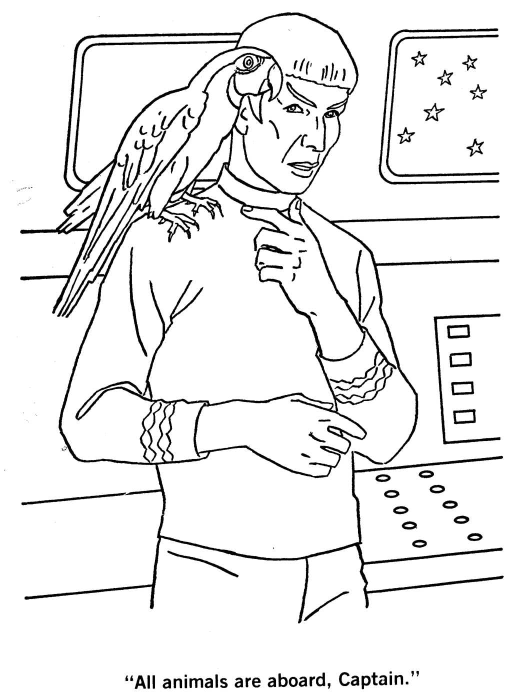Star Trek The Coloring Book