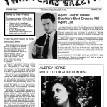 The preview issue of The Twin Peaks Gazette fan newsletter
