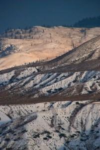 Ashcroft hills snow
