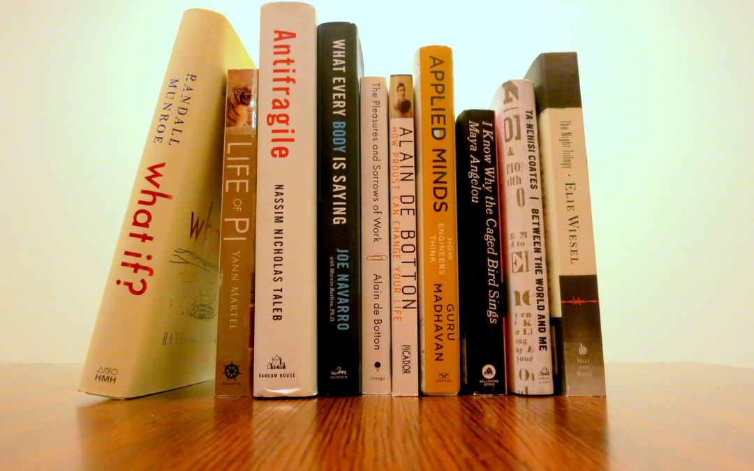 Best reads of 2015