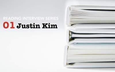Reading Interview Episode 1: Justin Kim