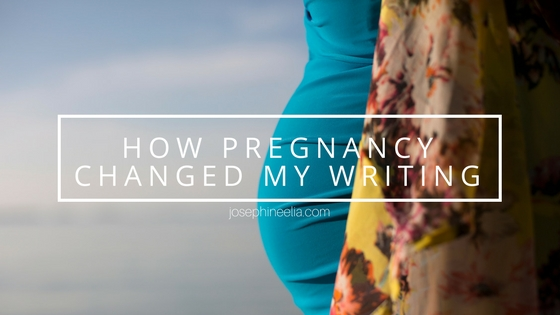 How Pregnancy Changed My Writing