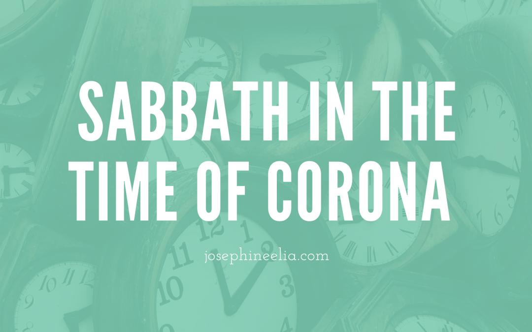 Sabbath in the Time of Corona
