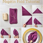 45 Napkin Folding Ideas That Are Easy