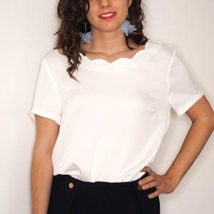 camisa blanca detalle espalda Josephine Looks
