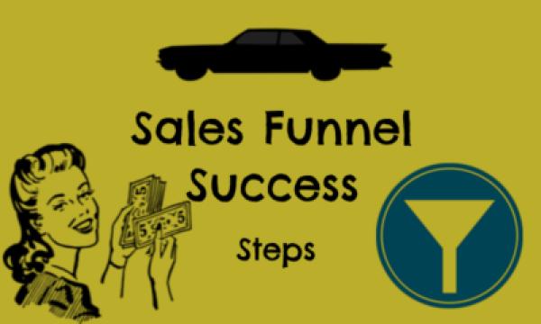 sales funnel success steps