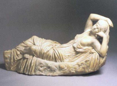 """Sleeping Ariadne,"" Roman, 2nd Century AD"