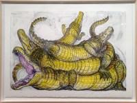 """Legartos,"" Luis Jimenez, colored lithograph"