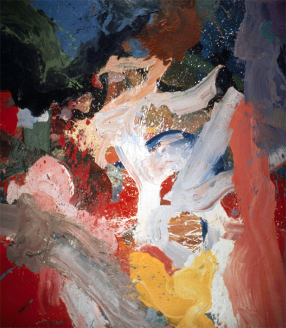 Untitled, oil on canvas, 12 x 9.5 feet, 1973.