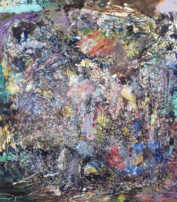 Murmur, oil on canvas, 18 x 16 inches, 1980-81.