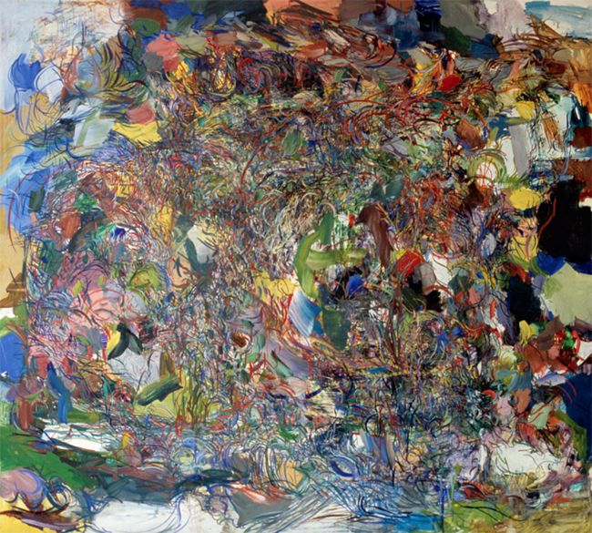 Lycanthropy, oil on canvas, 44 x 46 inches, 1980.