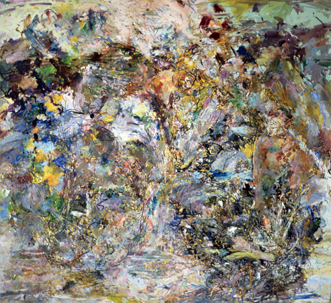 Fastened Together, oil on canvas, 26 x 28 inches, 1981-82.