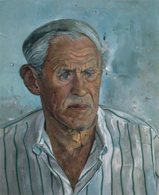 Ben, oil on linen, 22 x 18 inches, 1993. Collection of the artist.