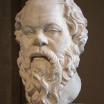 Socrates at The Louvre