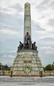 Rizal Monument in Luneta.