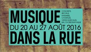 Festival Musique dans la rue 2016