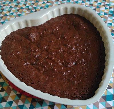 recette facil et rapide du brownie chocolat noir fondant à cœur