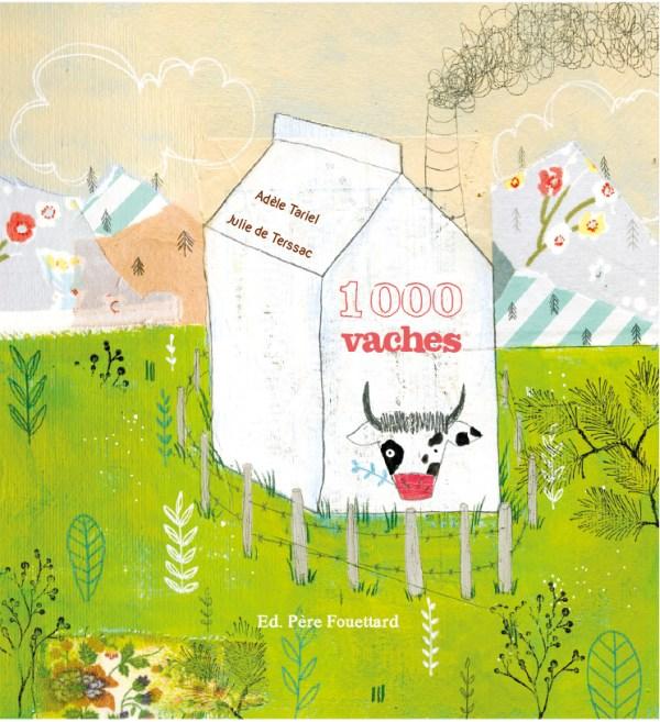 1000 vaches un album jeunesse qui fait réfléchir les enfants !