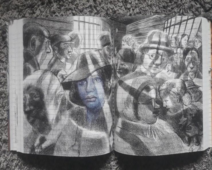 Extrait de Moi ce que j'aime c'est les monstres, BD d'emil Ferris aux éditions Monsieur Toussaint Louverture