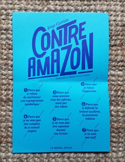 Contre Amazon 1 manifeste 7 raisons
