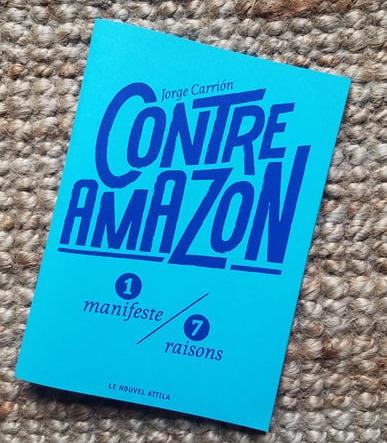 Contre Amazon manifeste de Jorge Carrion