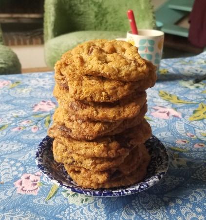 cookies aux pépites de chocolat recette facille pour survivre au confinement