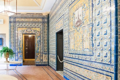 Andalusia - Seville.Palacio de Lebrija ceramics.