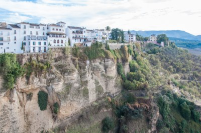 Ronda El Tajo gorge of the Guadalevin River