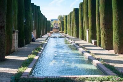 The gardens of the Alcazar.