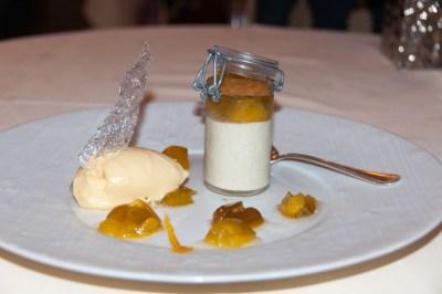 Dessert at L'Echevin.