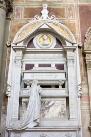 Gioachino Rossini's burial chapel.