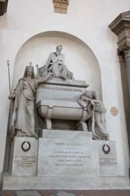 Dante's burial chapel.