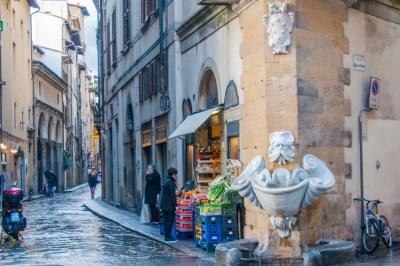 Lo Sprone Fountain.
