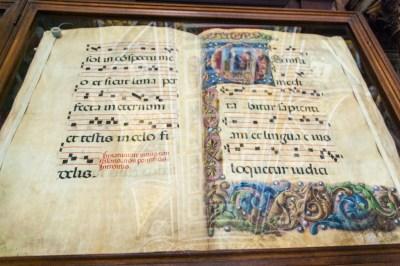 Tuscany - Siena Piccolomini Library manuscript.